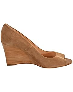 Tods WoMen's Wedge- Light Tobacco, Shoe Size: 41, US 11