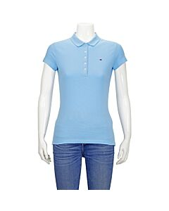 Tommy Hilfiger Blue Slim Fit Polo-Shirt Size Large