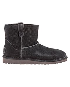 UGG Classic Unlined Mini Perf Boot- Black/ Size 7