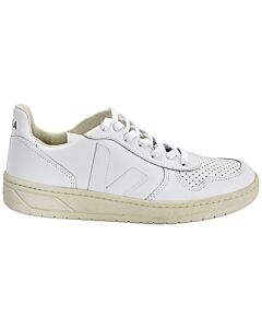 Veja Men's V10 Leather Sneaker, Brand Size 39 (US Size 6)