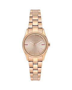 Women's Eva Stainless Steel Rose Gold-tone Dial