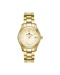 Womens-Lola-Stainless-Steel-Champagne-Dial