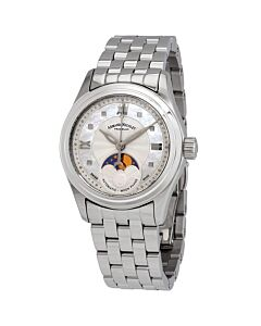 Womens-M03-2-Stainless-Steel-Black-guilloché-and-White-Mother-of-Pearl-Dial