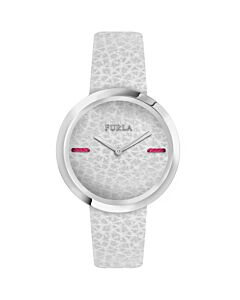 Women's My Piper Leather White Dial