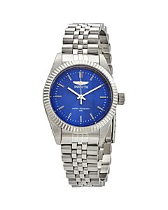 Womens-Specialty-Stainless-Steel-Blue-Dial