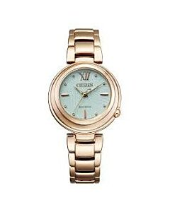 Womens-Sunrise-Stainless-Steel-Watch