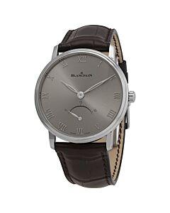 Womens-Villeret-Ultra-Slim-Alligator-Leather-Grey-Dial-Watch