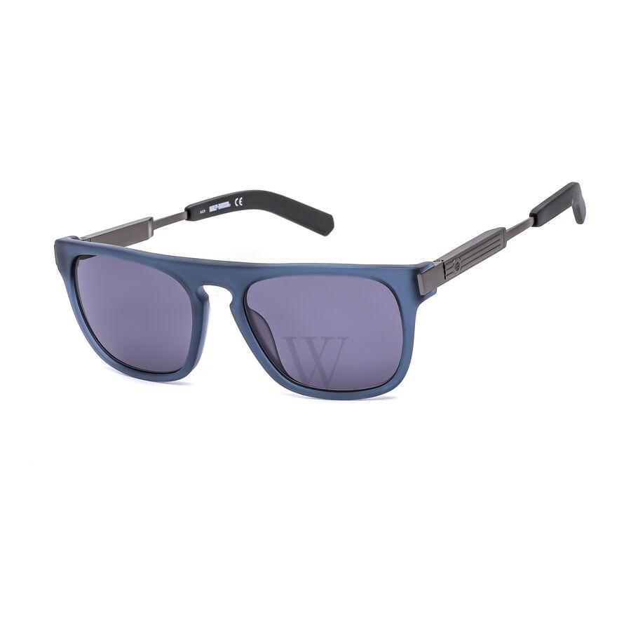 53 mm Gunmetal Sunglasses