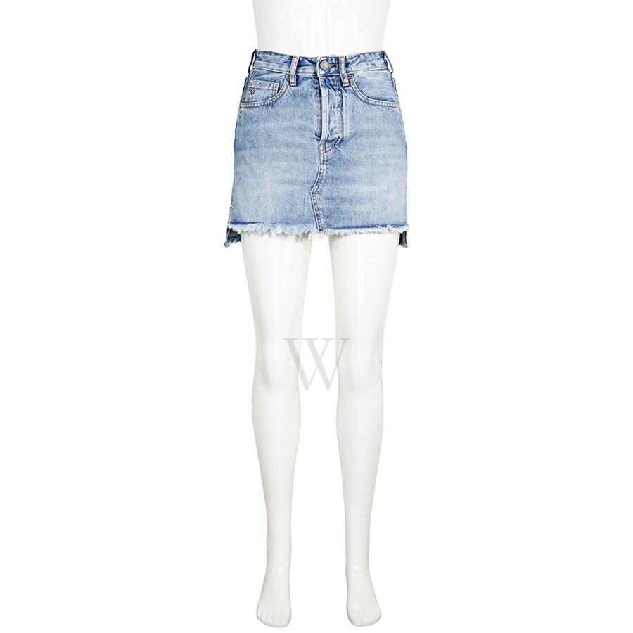 Denim Blue Skirt Size