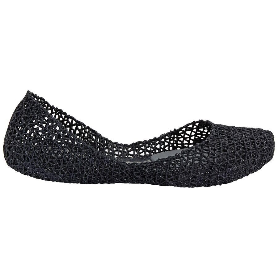 Ladies Campana Ppl Flat Glt Mesh Size 6